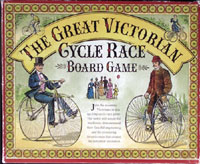 THE GREAT VICTORIAN CYCLE RACE BOARD GAME